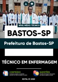 Técnico em Enfermagem - Prefeitura de Bastos-SP