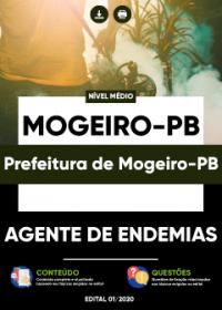Agente de Endemias - Prefeitura de Mogeiro-PB
