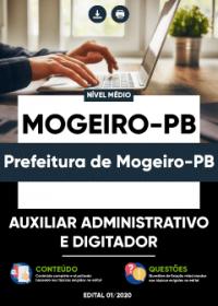 Auxiliar Administrativo e Digitador - Prefeitura de Mogeiro-PB