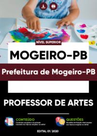 Professor de Artes - Prefeitura de Mogeiro-PB