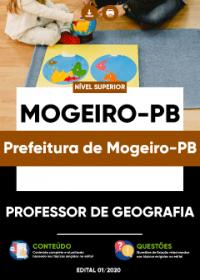 Professor de Geografia - Prefeitura de Mogeiro-PB