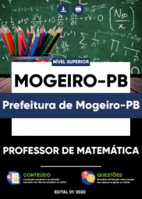 Professor de Matemática - Prefeitura de Mogeiro-PB
