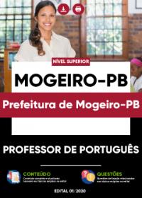 Professor de Português - Prefeitura de Mogeiro-PB