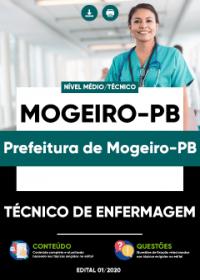 Técnico de Enfermagem - Prefeitura de Mogeiro-PB