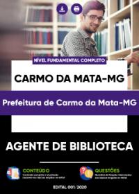 Agente de Biblioteca - Prefeitura de Carmo da Mata-MG