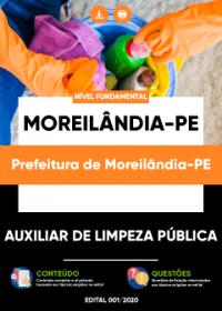 Auxiliar de Limpeza Pública - Prefeitura de Moreilândia-PE