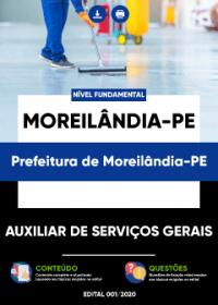 Auxiliar de Serviços Gerais - Prefeitura de Moreilândia-PE