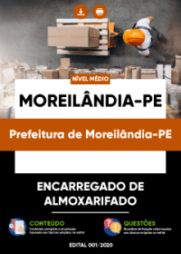 Encarregado de Almoxarifado - Prefeitura de Moreilândia-PE