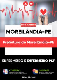 Enfermeiro e Enfermeiro PSF - Prefeitura de Moreilândia-PE