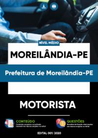 Motorista - Prefeitura de Moreilândia-PE