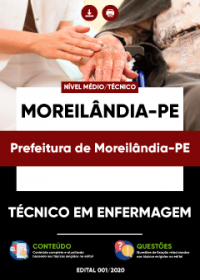 Técnico em Enfermagem - Prefeitura de Moreilândia-PE