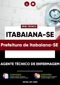 Agente Técnico de Enfermagem - Prefeitura de Itabaiana-SE