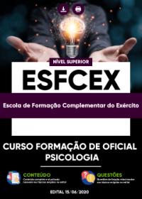 Curso Formação de Oficial - Psicologia - EsFCEx