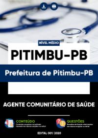 Agente Comunitário de Saúde - Prefeitura de Pitimbu-PB
