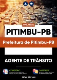 Agente de Trânsito - Prefeitura de Pitimbu-PB