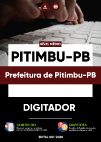 Digitador - Prefeitura de Pitimbu-PB