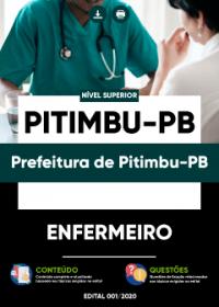 Enfermeiro - Prefeitura de Pitimbu-PB