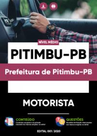 Motorista - Prefeitura de Pitimbu-PB