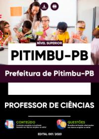 Professor de Ciências - Prefeitura de Pitimbu-PB