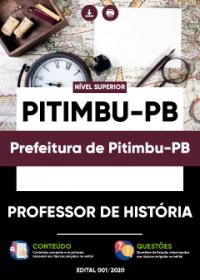 Professor de História - Prefeitura de Pitimbu-PB