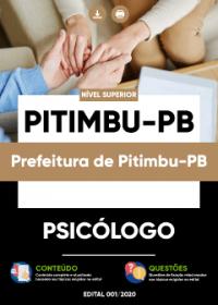 Psicólogo - Prefeitura de Pitimbu-PB