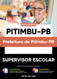 Supervisor Escolar - Prefeitura de Pitimbu-PB