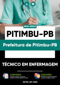 Técnico em Enfermagem - Prefeitura de Pitimbu-PB