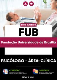 Psicólogo - Área: Clínica - FUB
