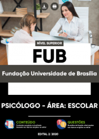 Psicólogo - Área: Escolar - FUB
