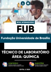 Técnico de Laboratório - Área: Química - FUB