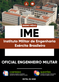 Oficial Engenheiro Militar - IME-Exército Brasileiro