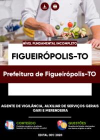 Agente de Vigilância e outros - Prefeitura de Figueirópolis-TO