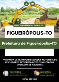Motorista de Transporte Escolar e outros - Prefeitura de Figueirópolis-TO