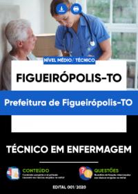 Técnico em Enfermagem - Prefeitura de Figueirópolis-TO