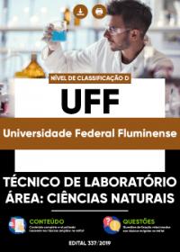 Técnico de Laboratório - Área: Ciências Naturais - UFF