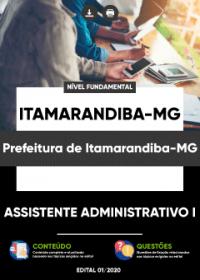 Assistente Administrativo I - Prefeitura de Itamarandiba-MG