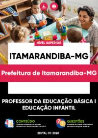 Professor da Educação Básica I - Educ. Infantil - Prefeitura de Itamarandiba-MG