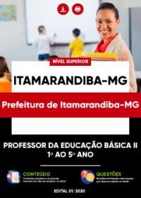 Professor da Educação Básica II - 1º ao 5º Ano - Prefeitura de Itamarandiba-MG