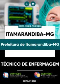 Técnico de Enfermagem - Prefeitura de Itamarandiba-MG
