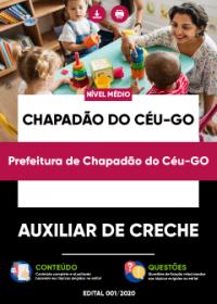 Auxiliar de Creche - Prefeitura de Chapadão do Céu-GO