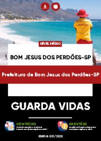 Guarda Vidas - Prefeitura de Bom Jesus dos Perdões-SP