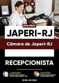 Recepcionista - Câmara de Japeri-RJ