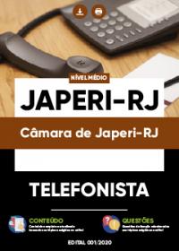 Telefonista - Câmara de Japeri-RJ