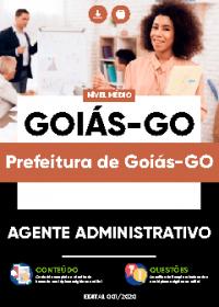 Agente Administrativo - Prefeitura de Goiás-GO