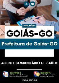 Agente Comunitário de Saúde - Prefeitura de Goiás-GO