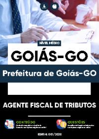 Agente Fiscal de Tributos - Prefeitura de Goiás-GO