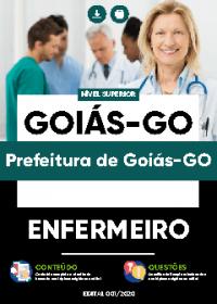 Enfermeiro - Prefeitura de Goiás-GO