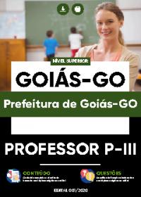 Professor P-III - Prefeitura de Goiás-GO