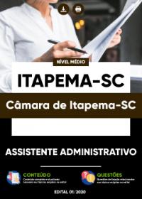 Assistente Administrativo - Câmara de Itapema-SC