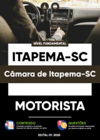 Motorista - Câmara de Itapema-SC